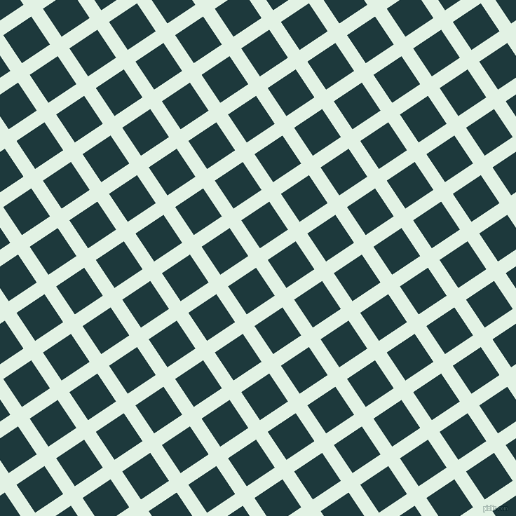 34/124 degree angle diagonal checkered chequered lines, 20 pixel line width, 48 pixel square size, Frosted Mint and Nordic plaid checkered seamless tileable