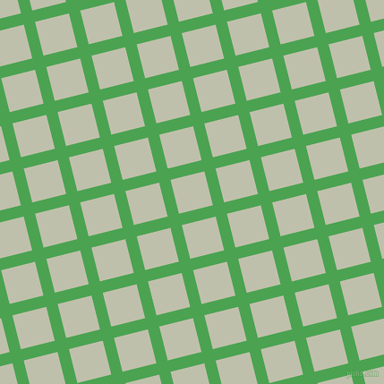 14/104 degree angle diagonal checkered chequered lines, 13 pixel lines width, 39 pixel square size, Fruit Salad and Kidnapper plaid checkered seamless tileable