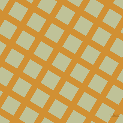 59/149 degree angle diagonal checkered chequered lines, 21 pixel line width, 49 pixel square size, Fuel Yellow and Green Mist plaid checkered seamless tileable