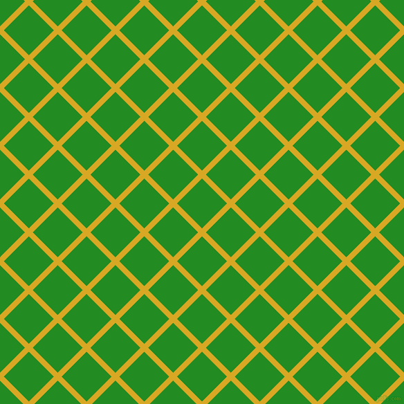 45/135 degree angle diagonal checkered chequered lines, 8 pixel line width, 51 pixel square size, Galliano and Forest Green plaid checkered seamless tileable