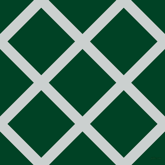 45/135 degree angle diagonal checkered chequered lines, 36 pixel lines width, 163 pixel square size, Geyser and British Racing Green plaid checkered seamless tileable