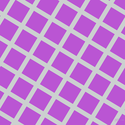 59/149 degree angle diagonal checkered chequered lines, 17 pixel line width, 64 pixel square size, Geyser and Medium Orchid plaid checkered seamless tileable