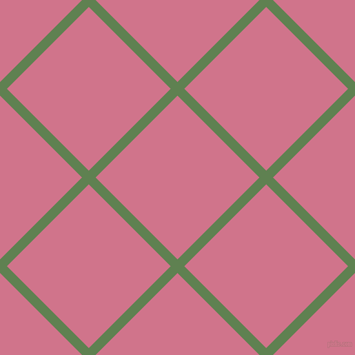 45/135 degree angle diagonal checkered chequered lines, 14 pixel lines width, 168 pixel square size, Glade Green and Charm plaid checkered seamless tileable