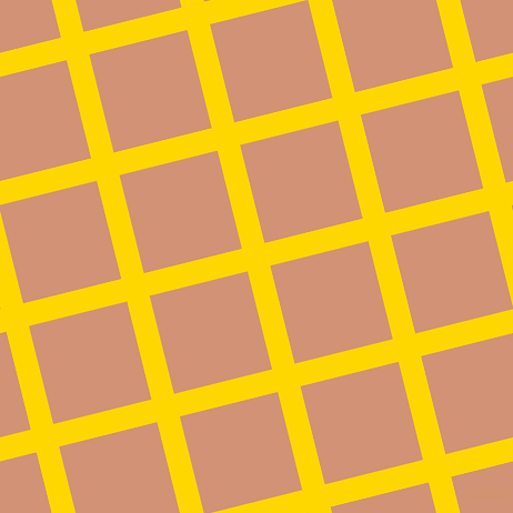 14/104 degree angle diagonal checkered chequered lines, 21 pixel lines width, 91 pixel square size, Gold and Feldspar plaid checkered seamless tileable