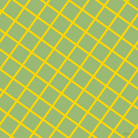 54/144 degree angle diagonal checkered chequered lines, 8 pixel lines width, 55 pixel square size, Gold and Olivine plaid checkered seamless tileable