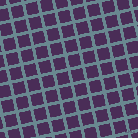 13/103 degree angle diagonal checkered chequered lines, 11 pixel lines width, 40 pixel square size, Gothic and Scarlet Gum plaid checkered seamless tileable