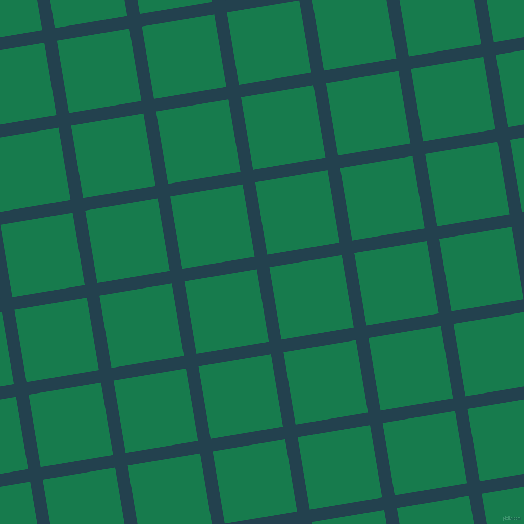 9/99 degree angle diagonal checkered chequered lines, 25 pixel lines width, 144 pixel square size, Green Vogue and Salem plaid checkered seamless tileable