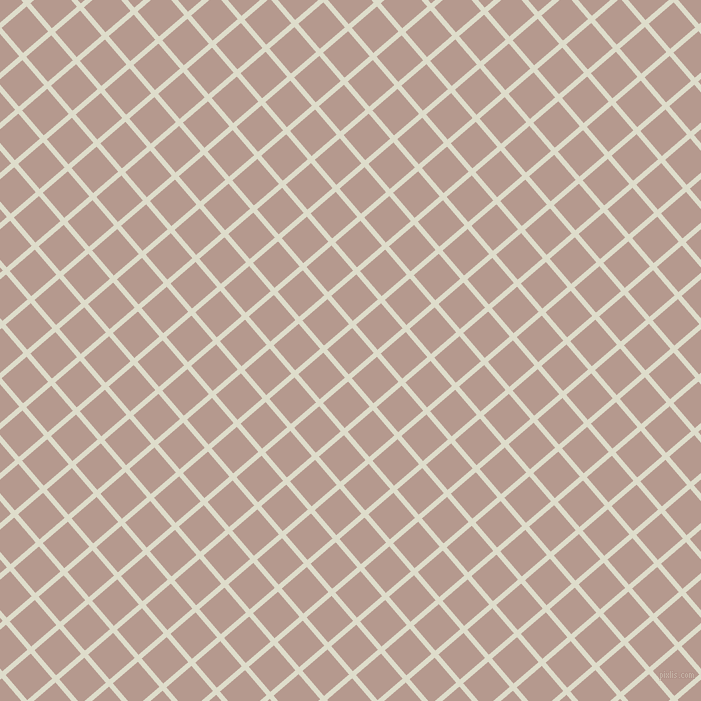 41/131 degree angle diagonal checkered chequered lines, 5 pixel line width, 33 pixel square size, Green White and Del Rio plaid checkered seamless tileable