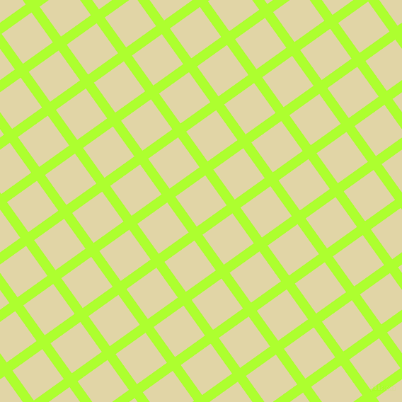 36/126 degree angle diagonal checkered chequered lines, 14 pixel lines width, 52 pixel square size, Green Yellow and Sapling plaid checkered seamless tileable