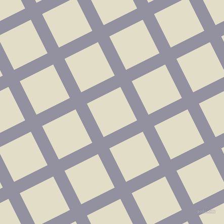 27/117 degree angle diagonal checkered chequered lines, 25 pixel lines width, 74 pixel square size, Grey Suit and Travertine plaid checkered seamless tileable