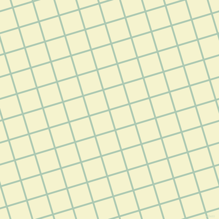 17/107 degree angle diagonal checkered chequered lines, 7 pixel lines width, 75 pixel square size, Gum Leaf and Moon Glow plaid checkered seamless tileable