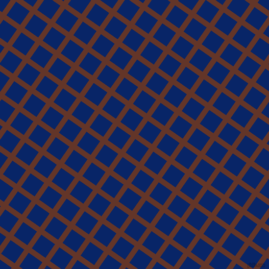 55/145 degree angle diagonal checkered chequered lines, 11 pixel lines width, 34 pixel square size, Hairy Heath and Sapphire plaid checkered seamless tileable