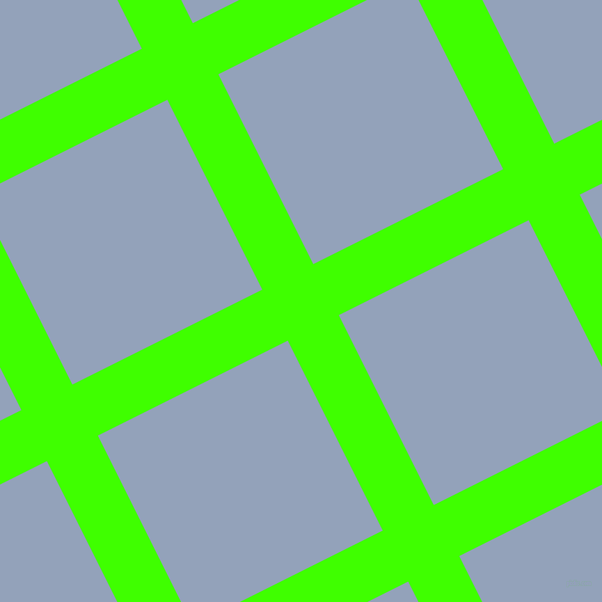 27/117 degree angle diagonal checkered chequered lines, 82 pixel line width, 305 pixel square size, Harlequin and Rock Blue plaid checkered seamless tileable