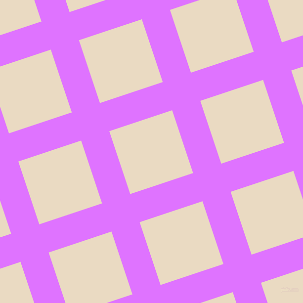 18/108 degree angle diagonal checkered chequered lines, 60 pixel line width, 134 pixel square size, Heliotrope and Solitaire plaid checkered seamless tileable