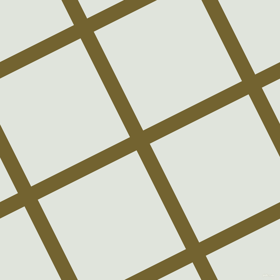27/117 degree angle diagonal checkered chequered lines, 47 pixel line width, 352 pixel square size, Himalaya and Catskill White plaid checkered seamless tileable