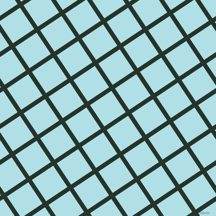 34/124 degree angle diagonal checkered chequered lines, 14 pixel lines width, 83 pixel square size, Holly and Powder Blue plaid checkered seamless tileable