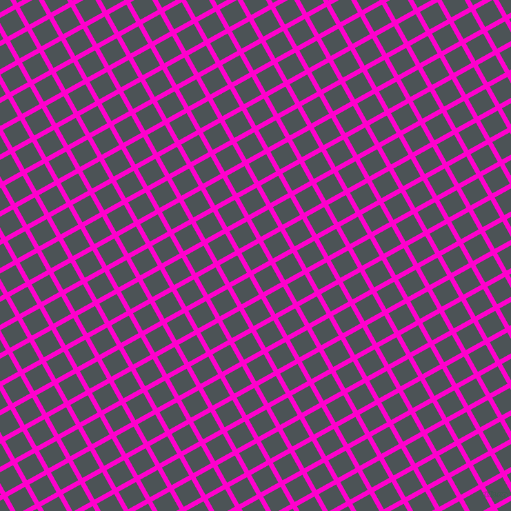 29/119 degree angle diagonal checkered chequered lines, 7 pixel lines width, 29 pixel square size, Hot Magenta and Trout plaid checkered seamless tileable