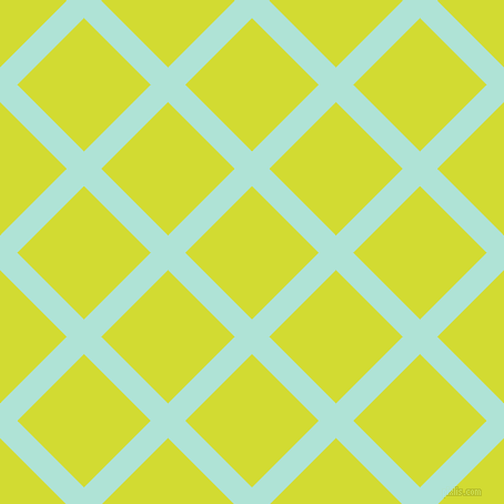 45/135 degree angle diagonal checkered chequered lines, 22 pixel lines width, 85 pixel square size, Ice Cold and Bitter Lemon plaid checkered seamless tileable