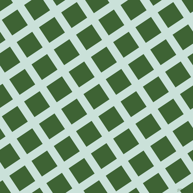 34/124 degree angle diagonal checkered chequered lines, 27 pixel lines width, 63 pixel square size, Iceberg and Green House plaid checkered seamless tileable