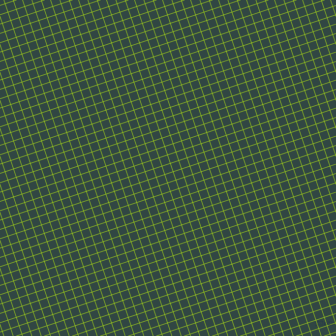 18/108 degree angle diagonal checkered chequered lines, 1 pixel line width, 17 pixel square size, Inch Worm and Firefly plaid checkered seamless tileable