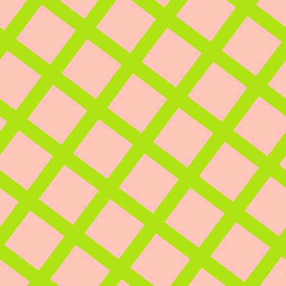 53/143 degree angle diagonal checkered chequered lines, 28 pixel line width, 85 pixel square size, Inch Worm and Your Pink plaid checkered seamless tileable
