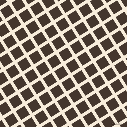 32/122 degree angle diagonal checkered chequered lines, 11 pixel lines width, 35 pixel square size, Island Spice and Tobago plaid checkered seamless tileable