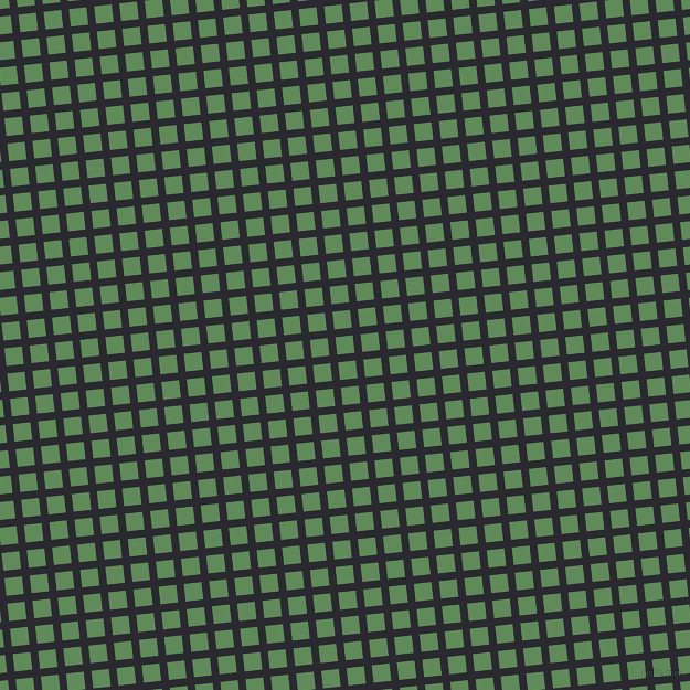 6/96 degree angle diagonal checkered chequered lines, 7 pixel lines width, 16 pixel square size, Jaguar and Hippie Green plaid checkered seamless tileable