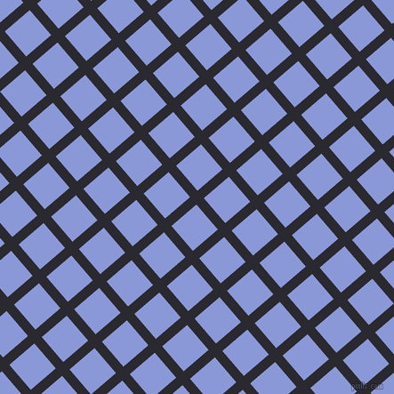 41/131 degree angle diagonal checkered chequered lines, 11 pixel lines width, 37 pixel square size, Jaguar and Portage plaid checkered seamless tileable
