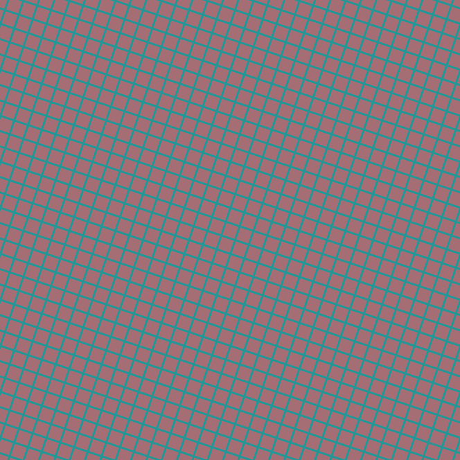 72/162 degree angle diagonal checkered chequered lines, 3 pixel line width, 18 pixel square size, Java and Turkish Rose plaid checkered seamless tileable