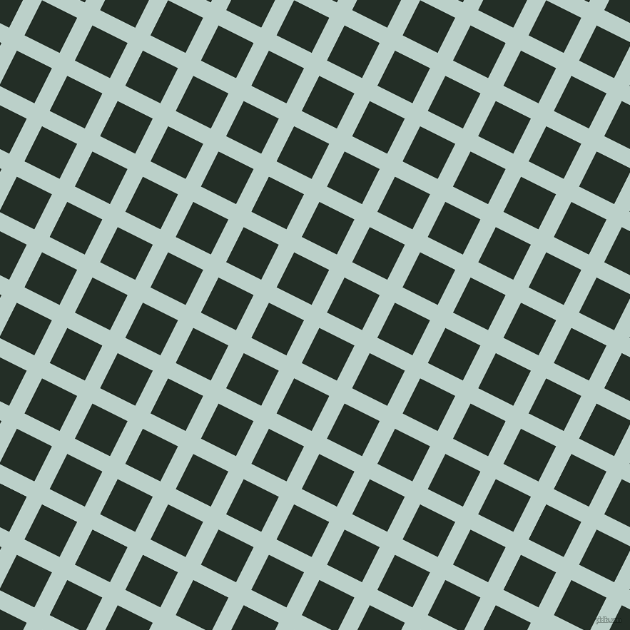 63/153 degree angle diagonal checkered chequered lines, 24 pixel line width, 55 pixel square size, Jet Stream and Black Bean plaid checkered seamless tileable