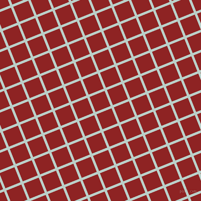 22/112 degree angle diagonal checkered chequered lines, 5 pixel lines width, 33 pixel square size, Jet Stream and Mandarian Orange plaid checkered seamless tileable