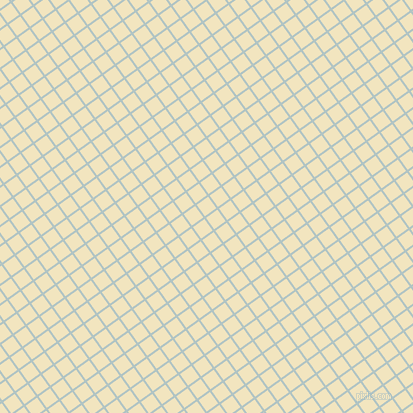 36/126 degree angle diagonal checkered chequered lines, 2 pixel line width, 14 pixel square size, Jungle Mist and Half Colonial White plaid checkered seamless tileable