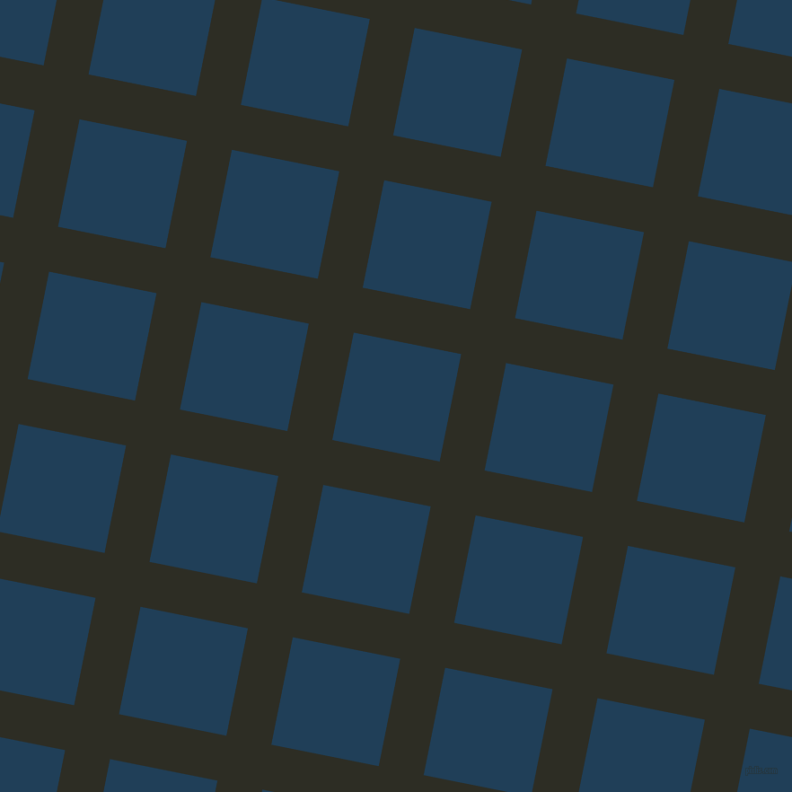 79/169 degree angle diagonal checkered chequered lines, 51 pixel lines width, 122 pixel square size, Karaka and Regal Blue plaid checkered seamless tileable