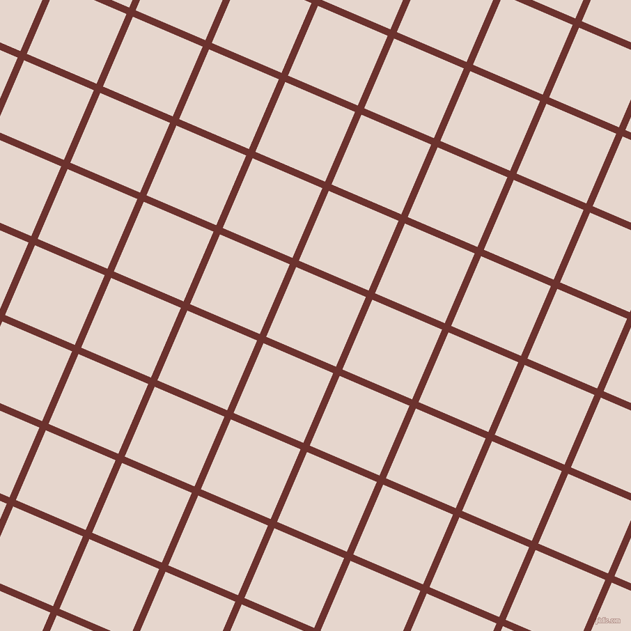 67/157 degree angle diagonal checkered chequered lines, 10 pixel lines width, 109 pixel square size, Kenyan Copper and Dawn Pink plaid checkered seamless tileable