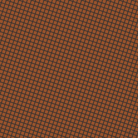 72/162 degree angle diagonal checkered chequered lines, 3 pixel line width, 11 pixel square size, Kilamanjaro and Hawaiian Tan plaid checkered seamless tileable