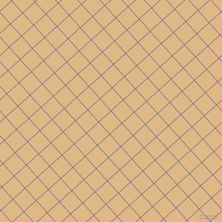 42/132 degree angle diagonal checkered chequered lines, 1 pixel lines width, 32 pixel square size, Kimberly and Burly Wood plaid checkered seamless tileable