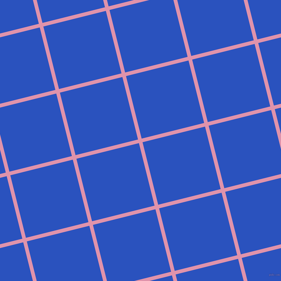 14/104 degree angle diagonal checkered chequered lines, 12 pixel lines width, 208 pixel square size, Kobi and Cerulean Blue plaid checkered seamless tileable