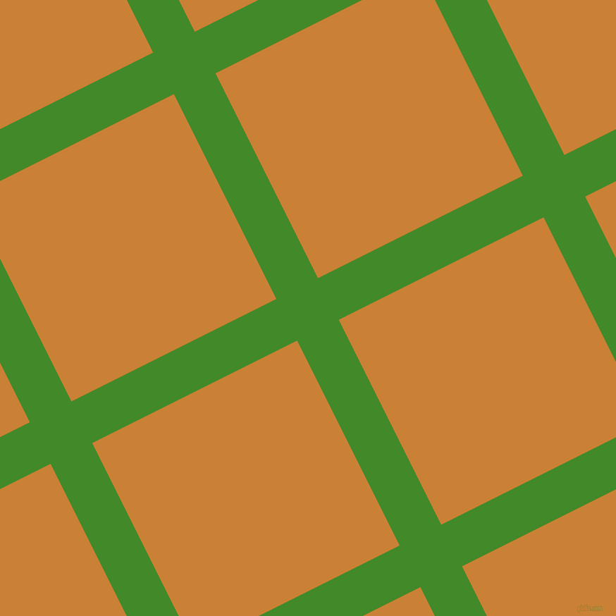 27/117 degree angle diagonal checkered chequered lines, 66 pixel lines width, 325 pixel square size, La Palma and Golden Bell plaid checkered seamless tileable