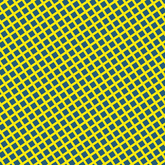 34/124 degree angle diagonal checkered chequered lines, 9 pixel line width, 21 pixel square size, Lemon and Orient plaid checkered seamless tileable