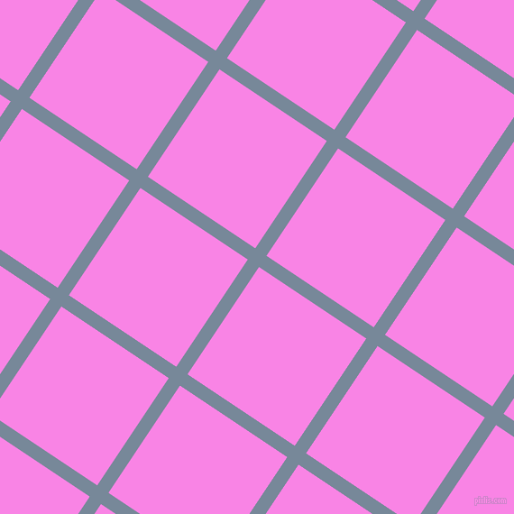 56/146 degree angle diagonal checkered chequered lines, 15 pixel lines width, 143 pixel square size, Light Slate Grey and Pale Magenta plaid checkered seamless tileable