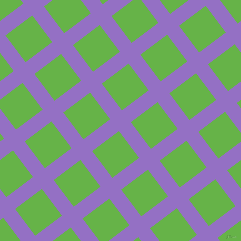 37/127 degree angle diagonal checkered chequered lines, 49 pixel lines width, 111 pixel square size, Lilac Bush and Apple plaid checkered seamless tileable