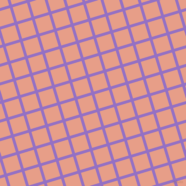 17/107 degree angle diagonal checkered chequered lines, 10 pixel line width, 52 pixel square size, Lilac Bush and Tonys Pink plaid checkered seamless tileable