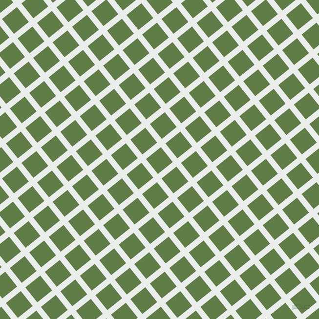 39/129 degree angle diagonal checkered chequered lines, 12 pixel line width, 39 pixel square size, Lily White and Dingley plaid checkered seamless tileable