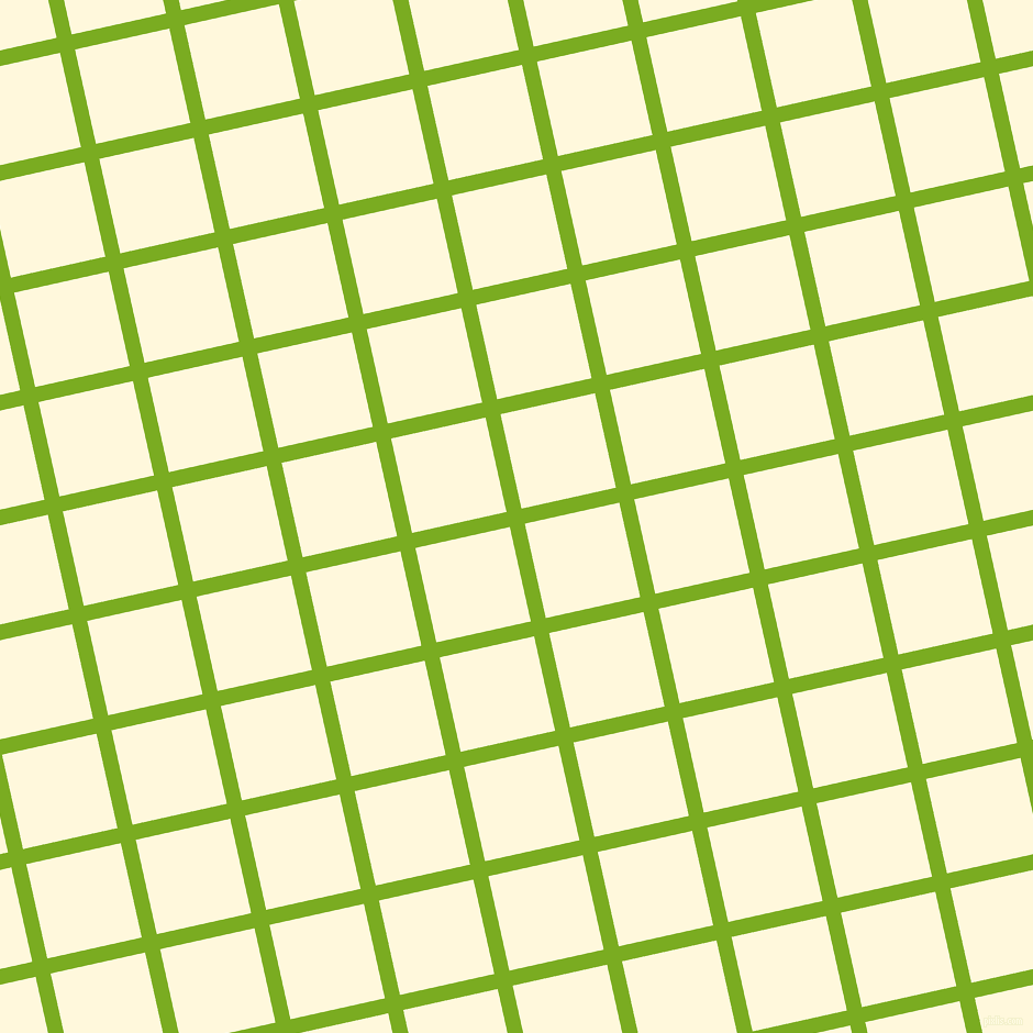 13/103 degree angle diagonal checkered chequered lines, 14 pixel lines width, 88 pixel square size, Lima and Corn Silk plaid checkered seamless tileable