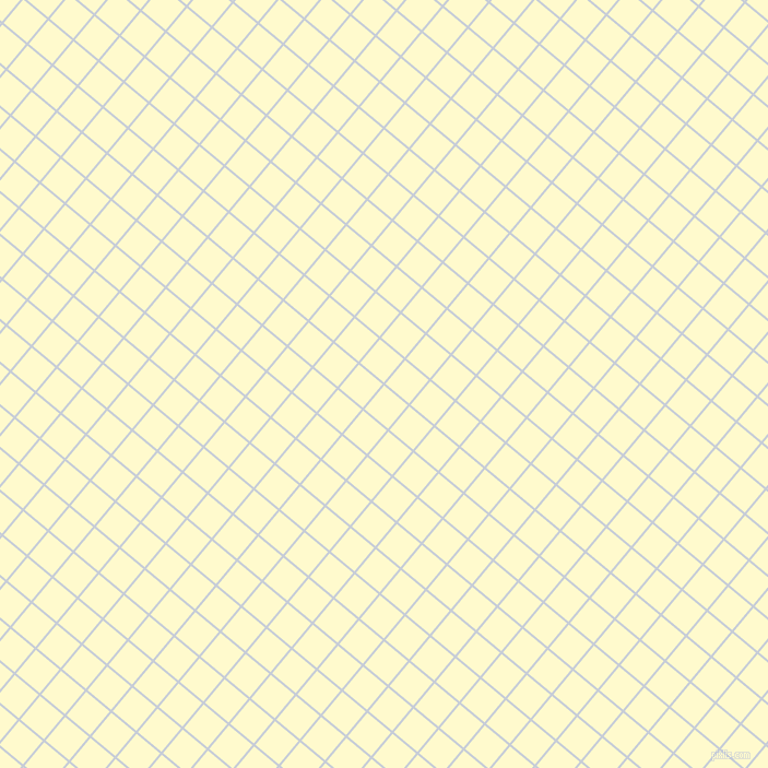 50/140 degree angle diagonal checkered chequered lines, 2 pixel line width, 28 pixel square size, Link Water and Lemon Chiffon plaid checkered seamless tileable