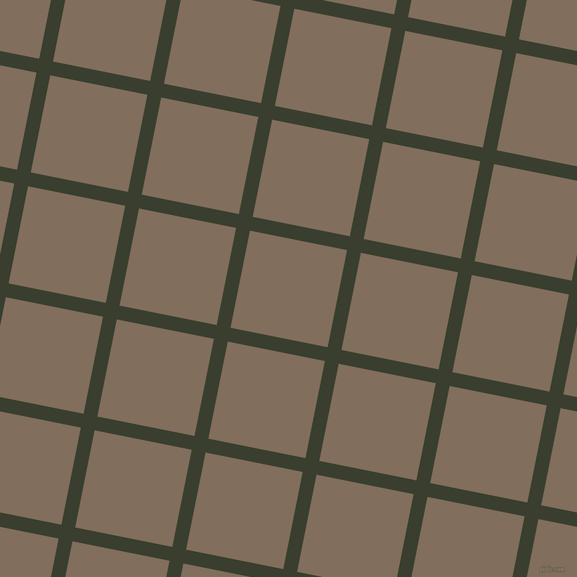 79/169 degree angle diagonal checkered chequered lines, 20 pixel line width, 141 pixel square size, Log Cabin and Donkey Brown plaid checkered seamless tileable