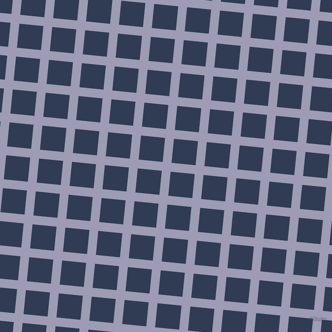 84/174 degree angle diagonal checkered chequered lines, 18 pixel line width, 49 pixel square size, Logan and Biscay plaid checkered seamless tileable