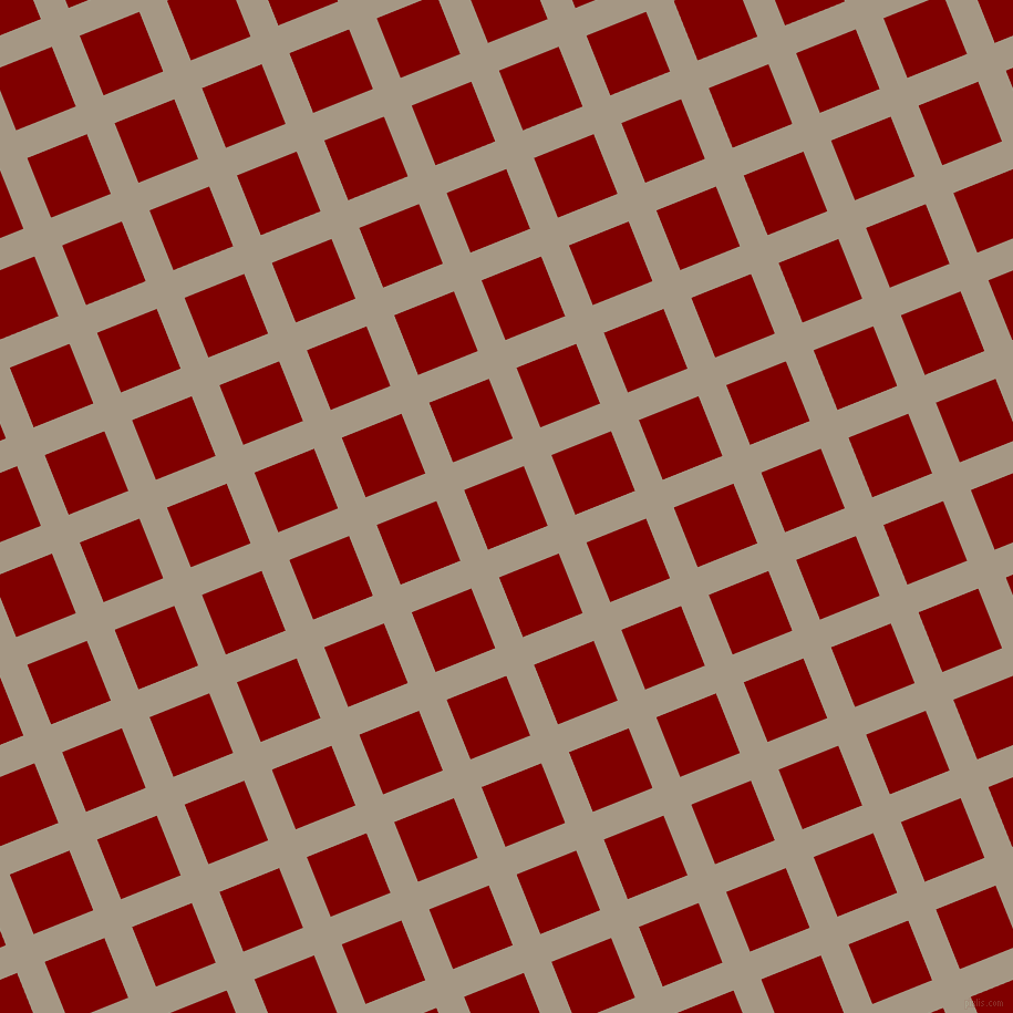 22/112 degree angle diagonal checkered chequered lines, 27 pixel line width, 58 pixel square size, Malta and Maroon plaid checkered seamless tileable