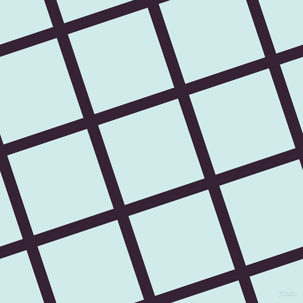 18/108 degree angle diagonal checkered chequered lines, 23 pixel lines width, 167 pixel square size, Mardi Gras and Oyster Bay plaid checkered seamless tileable