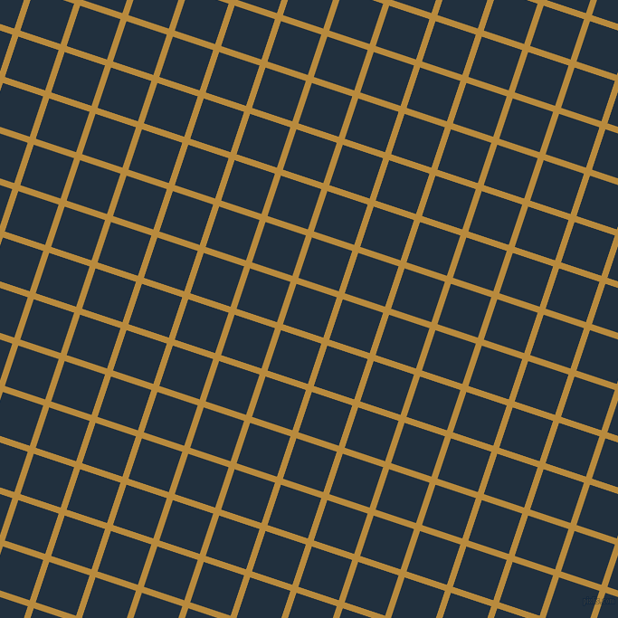 72/162 degree angle diagonal checkered chequered lines, 7 pixel line width, 47 pixel square size, Marigold and Midnight plaid checkered seamless tileable
